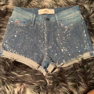 NWOT Hollister denim shorts